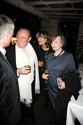 Left to right, ANDREW NEIL, CATHERINE YOUNG and her daughter KIRSTY YOUNG at the Johnnie Walker Blue Label Great Scot Award 2010 in association with The Spectator and Boisdale held at Boisdale of Belgravia, 22 Ecclestone Street, London SW1 on 24th February 2010.
