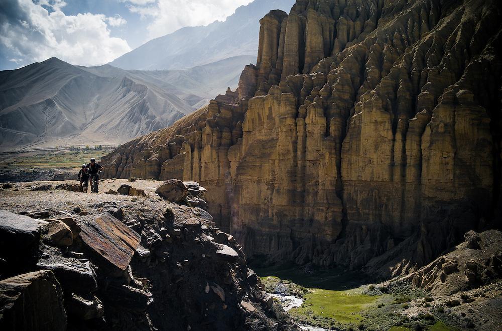 Rob Story& Seb Liljeberg, 12 -day Upper Mustang ride, Nepal