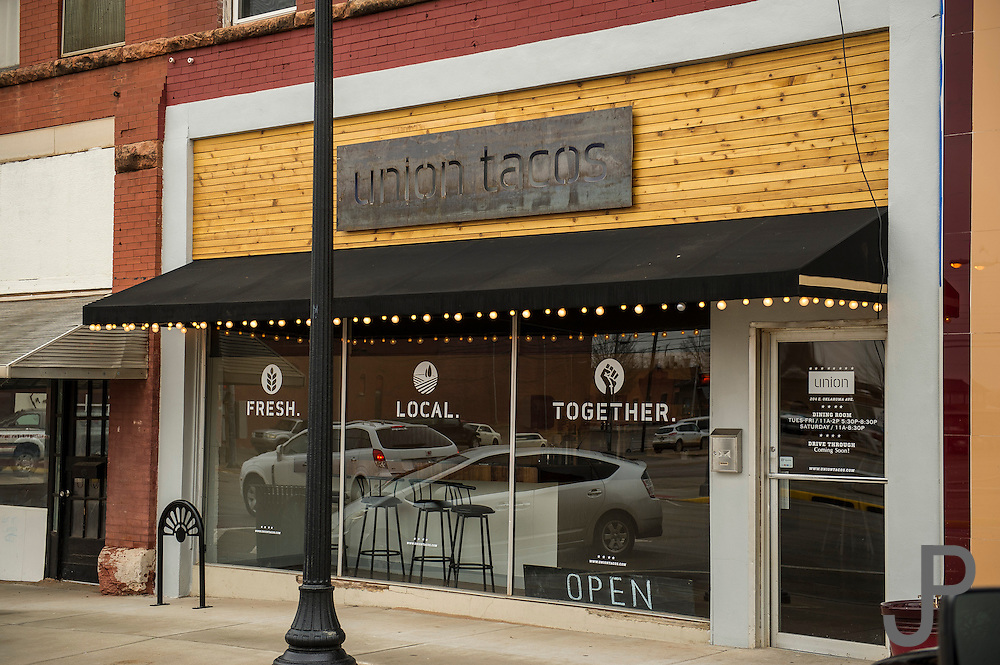 Union Tacos in Guthrie for Oklahoma Today