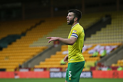 Grant Hanley of Norwich City - Mandatory by-line: Arron Gent/JMP - 24/10/2020 - FOOTBALL - Carrow Road - Norwich, England - Norwich City v Wycombe Wanderers - Sky Bet Championship