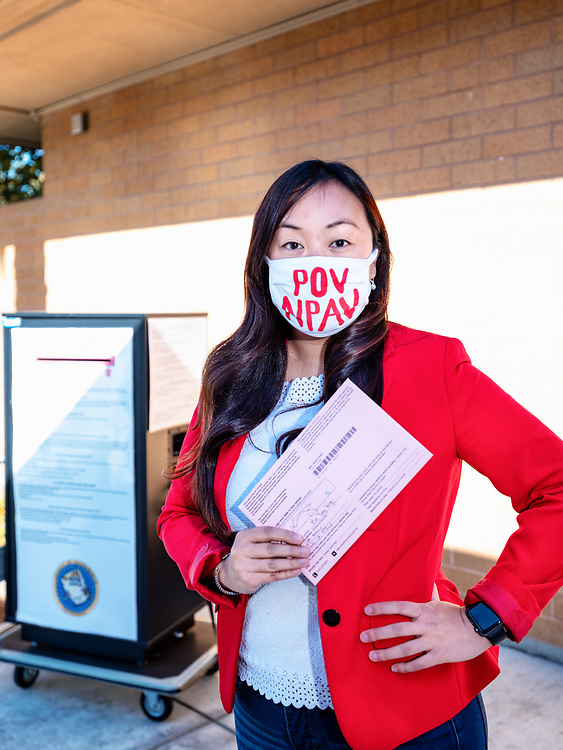 Mai (35). Executive Director. Hmong.<br /> <br /> Q: Why are you voting?<br /> A: For my family, my community, and because I want a better world for the people I love.<br /> <br /> Q: As an Asian American do you feel that your voice is represented in yourcommunity?<br /> A: No, and that's why I am currently running for Sacramento City Council. Often policy decisions are made for us not by us, and that must change.<br /> <br /> Before COVID, inequities existed. During COVID, they're highlighted and the disparitieshave been exacerbated. At the core of the recovery, we have to focus on supportingpeople that have been left behind. We suspended our campaign to work on supporting folks in our community that have been seriously impacted - whether that means economically, physically, or spiritually.<br /> <br /> I want to help build a pipeline of young, diverse leaders on a local level. I also want toensure that every decision we make takes the most vulnerable into consideration. Vulnerable folks are so often seen as the problem - but more often than not, they're theproblem solvers.