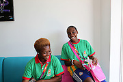 The Togolese Team at the Olympic Village in Stratford, London on the 26th of July 2012