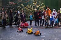Annual Halloween Pumpkin Race, Bellevue