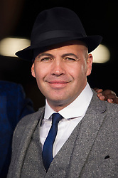 """Bily Zane attends the European premiere for """"Eddie the Eagle at Odeon Leicester Square in London, 17.03.2016. EXPA Pictures © 2016, PhotoCredit: EXPA/ Photoshot/ Euan Cherry<br /> <br /> *****ATTENTION - for AUT, SLO, CRO, SRB, BIH, MAZ, SUI only*****"""