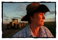 csz981121.001.004.jpg. farmer lu hogan on her farm at hay, pic by craig sillitoe, news melbourne photographers, commercial photographers, industrial photographers, corporate photographer, architectural photographers, This photograph can be used for non commercial uses with attribution. Credit: Craig Sillitoe Photography / http://www.csillitoe.com<br /> <br /> It is protected under the Creative Commons Attribution-NonCommercial-ShareAlike 4.0 International License. To view a copy of this license, visit http://creativecommons.org/licenses/by-nc-sa/4.0/.