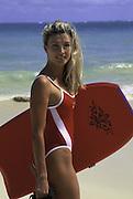 Woman on Beach, Hawaii, USA<br />