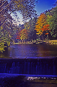 Autumn, Sherman Creek water falls, Perry Co., PA