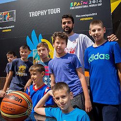 20140621: CRO, Basketball - 2014 FIBA World Cup Spain Trophy Tour in Zagreb