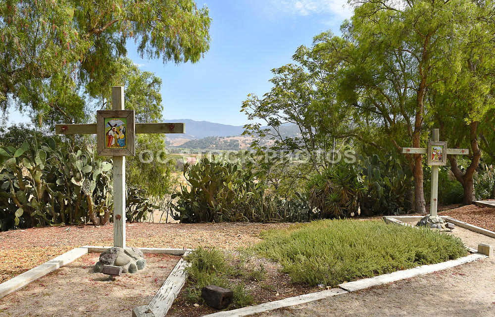 Stations of the Cross at Old Mission Santa Ines