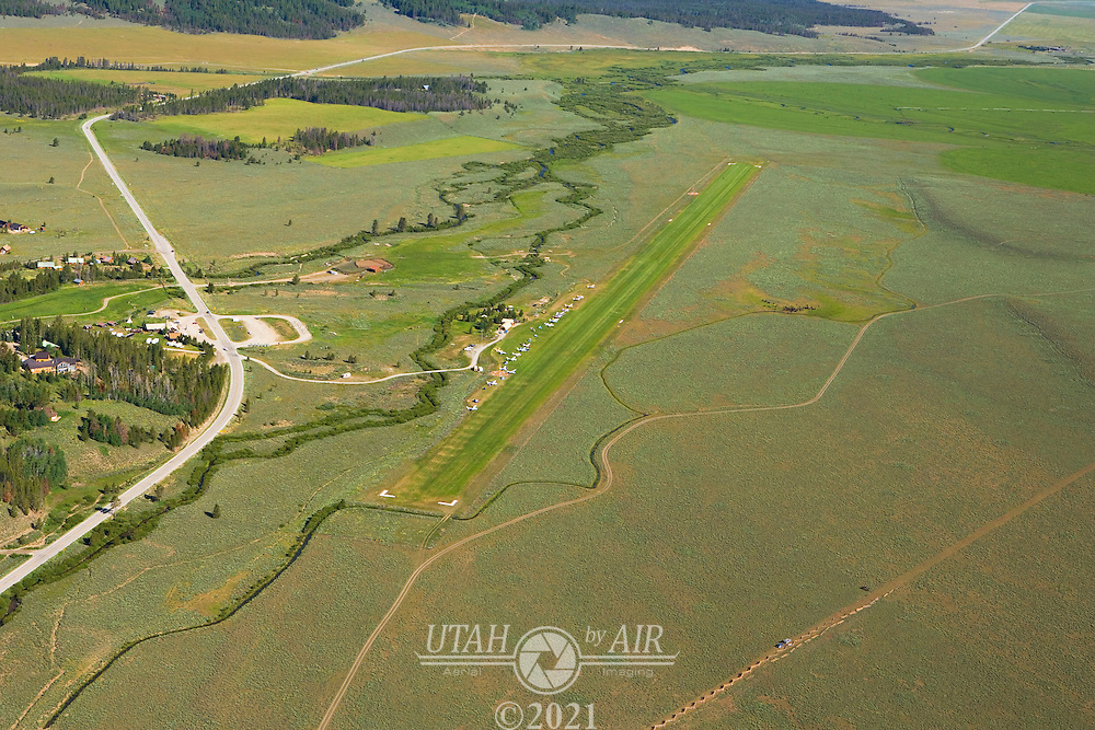 Smiley Creek Airstrip in Idaho, elevation 7160ft, length 4900ft