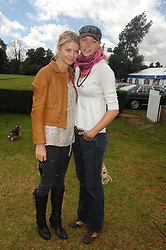 Left to right, sisters the COUNTESS OF MORNINGTON and JODIE KIDD at a charity polo match organised by Jaeger Le Coultre at Ham Polo Club, Richmond, Surrey on 29th June 2007.<br /><br />NON EXCLUSIVE - WORLD RIGHTS