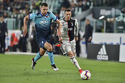 May 19, 2019 - Turin, Turin, Italy - Federico Bernardeschi of Juventus FC during the Serie A match at Allianz Stadium, Turin (Credit Image: © Antonio Polia/Pacific Press via ZUMA Wire)