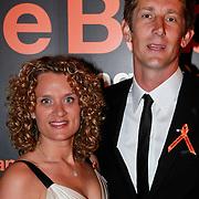NLD/Noordwijk/20110625 - Orange Babies Gala 2011, Edwin van der Sar en partner Annemarie van Kesteren