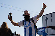 Bruno Saltor lookalike during the Brighton & Hove Albion Football Club Promotion Parade at Brighton Seafront, Brighton, East Sussex. United Kingdom on 14 May 2017. Photo by Ellie Hoad.
