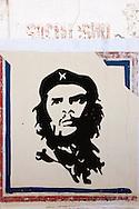Image of Ernesto Che Guevara in Aquas Claras, Pinar del Rio, Cuba.