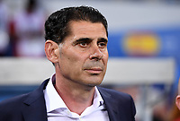 FUSSBALL WM 2018 Vorrunde Gruppe B 15.06.2018 Portugal - Spanien Trainer Fernando Hierro (Spanien) *** FIFA World Cup 2018 Preliminary Round Group B 15 06 2018 Portugal Spain Coach Fernando Hierro Spain PUBLICATIONxNOTxINxAUTxSUIxITA