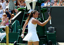 July 7, 2018 - Angleterre - Wimbledon - Daria Kasatkina Russie (Credit Image: © Panoramic via ZUMA Press)