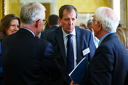 © Licensed to London News Pictures. 10/10/2014. LONDON, UK. Alastair Campbell attending to Deputy Prime Minister Nick Clegg's reception for World Mental Health day on Friday, 10 October 2014 at Admiralty House in central London. Photo credit : Tolga Akmen/LNP