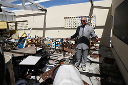 The Prince of Wales visits the Holy Trinity School n Codrington, Barbuda, as he continues his tour of hurricane-ravaged Caribbean islands.