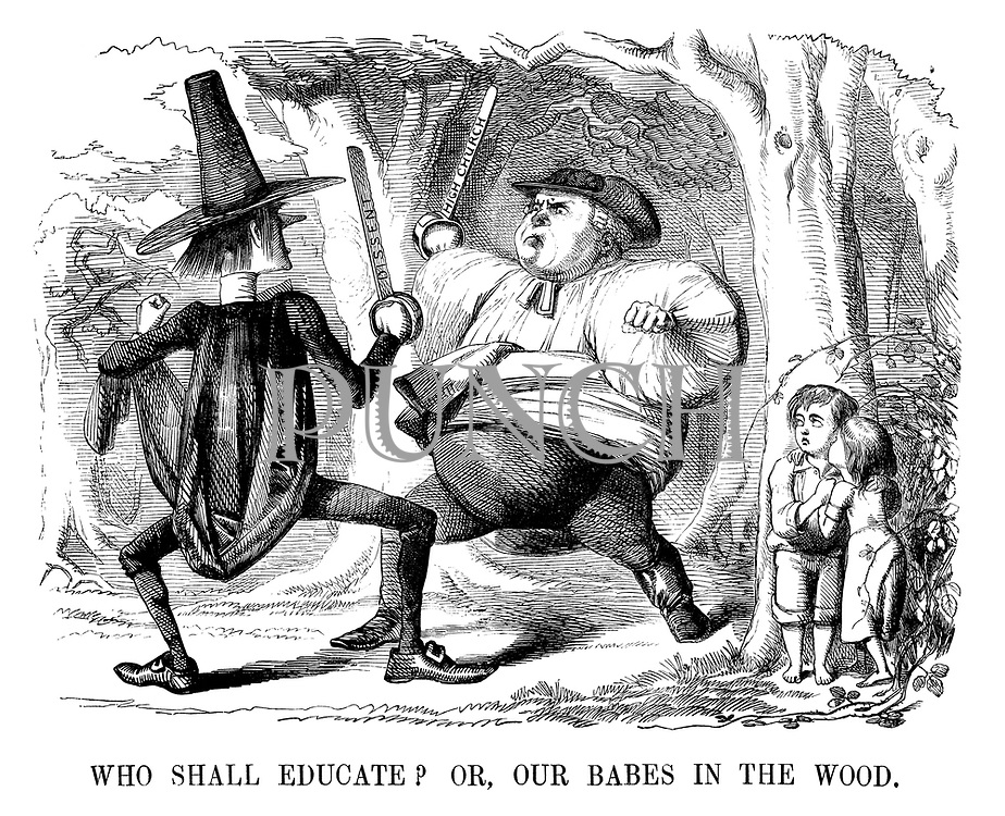 Who Shall Educate? Or, our babes in the wood.