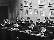 Classroom, Westminster School, London, 1932