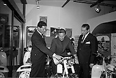 1967 - Motoring Enthusiasts Week opened by Joe Lynch at the International Trade Promotion Centre