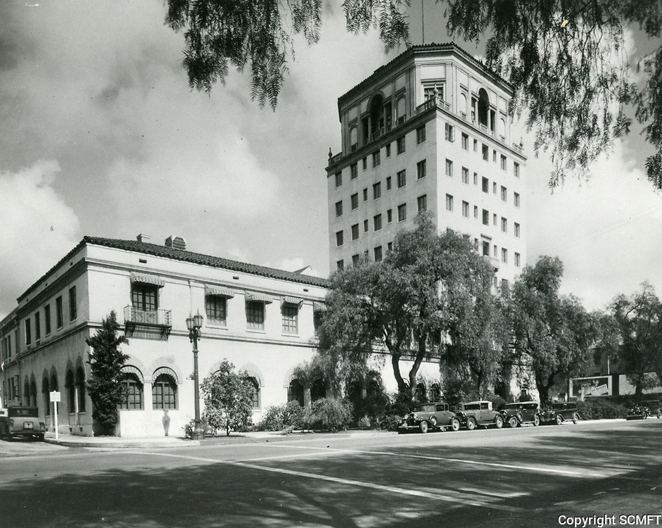 1933 Hollywood Athletic Club on Sunset Blvd.