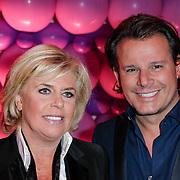 NLD/Amsterdam/20120330 - Emma Raising Fund Night, Leco van Zadelhoff en Nicolette ten Berge