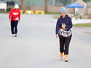 Augusta, New Jersey - Runners compete iin the 72-hour race during the 3 Days at the Fair races at Sussex County Fairgrounds on May 13, 2012.