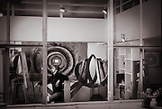 Paris artists in their stdio. Painters and sculptors. B&W photography. Paris artists in their stdio. Painters and sculptors. B&W photography.