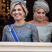 NLD/Den Haag/20170919 - Prinsjesdag 2017, Koningin Maxima en Prinses Laurentien