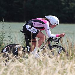 21-06-2017: Wielrennen: NK Tijdrijden: Montferlands-Heerenberg (NED) wielrennen <br />Tijdrit Junior Vrouwen  <br />Anne de Ruiter (Polsbroek) pakt de titel bij de junior vrouwen