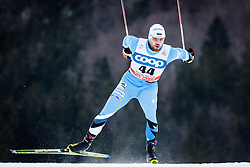 Sellis Siim (EST) during Man 1.2 km Free Sprint Qualification race at FIS Cross<br /> Country World Cup Planica 2016, on January 16, 2016 at Planica,Slovenia. Photo by Ziga Zupan / Sportida