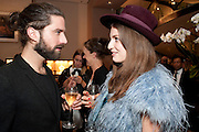 JACK GUINNESS; TALI LENNOX,  Vogue Fashion night out.- Alexandra Shulman and Paddy Byng are host a party  to celebrate the launch for FashionÕs Night Out At Asprey. Bond St and afterwards in the street. London. 8 September 2011. <br />  <br />  , -DO NOT ARCHIVE-© Copyright Photograph by Dafydd Jones. 248 Clapham Rd. London SW9 0PZ. Tel 0207 820 0771. www.dafjones.com.<br /> JACK GUINNESS; TALI LENNOX,  Vogue Fashion night out.- Alexandra Shulman and Paddy Byng are host a party  to celebrate the launch for Fashion's Night Out At Asprey. Bond St and afterwards in the street. London. 8 September 2011. <br />  <br />  , -DO NOT ARCHIVE-© Copyright Photograph by Dafydd Jones. 248 Clapham Rd. London SW9 0PZ. Tel 0207 820 0771. www.dafjones.com.