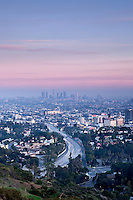 Mulholland Drive Scenic Overlook, Los Angeles, California