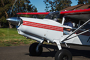 A Maule taxxing at the 2013 Hood River Fly In at WAAAM.