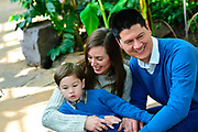 Castello Family portrait at Garfield Park Conservatory on Saturday, December 2nd. ©2017 Brian J. Morowczynski ViaPhotos