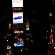 Time Square by night.