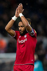 Ashley Williams of Bristol City applauds the away fans after the match - Mandatory by-line: Daniel Chesterton/JMP - 15/02/2020 - FOOTBALL - Elland Road - Leeds, England - Leeds United v Bristol City - Sky Bet Championship