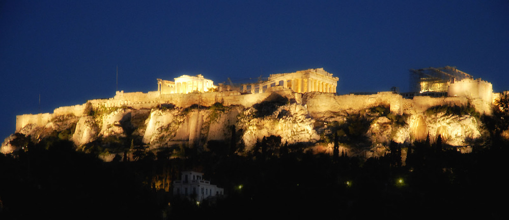 Create Comparisons!!! <br /> <br />  Old and new buildings.<br /> <br /> Panoramic View, Acropolis from Thissio.