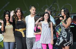 The Kardashian clan live at The KIIS Fm Wango Tango 2008 held at The Verizon Wireless Ampitheatre in Irvine, CA, USA, on May 10, 2008. Photo by Debbie Vanstory/ABACAPRESS.COM  | 151879_09