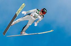 24.02.2017, Lahti, FIN, FIS Weltmeisterschaften Ski Nordisch, Lahti 2017, Nordische Kombination, Skisprung, im Bild Akito Watabe (JPN) // Akito Watabe of Japan during Skijumping of Nordic Combined competition of FIS Nordic Ski World Championships 2017. Lahti, Finland on 2017/02/24. EXPA Pictures © 2017, PhotoCredit: EXPA/ JFK