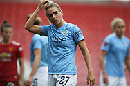 Manchester City defender Alex Greenwood (27) Portrait half body during the FA Women's Super League match between Manchester United Women and Manchester City Women at Leigh Sports Village, Leigh, United Kingdom on 14 November 2020.