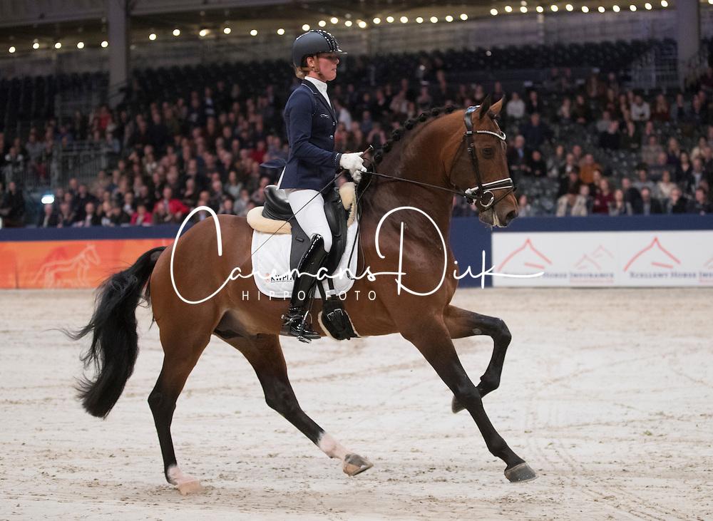 Cornelissen Adelinde, NED, Henkie<br /> KWPN Hengstenkeuring 2017<br /> © Hippo Foto - Leanjo de Koster<br /> 04/02/17