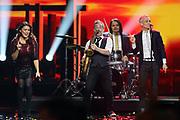Auftritt der niederländischen Popgruppe «Hermes House Band» bei der «Silvestershow 2019» mit Jörg Pilawa & Francine Jordi in der Baden-Arena, Messe Offenburg.