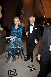 PRINCESS ALEXANDRA and the EARL OF AIRLIE at a dinner to celebrate the opening of 'Maharaja - The Spendour of India's Royal Courts' an exhbition at the V&A, London on 6th October 2009.