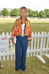 LADY AMELIA WINDSOR at the Flannels For Heroes cricket competition in association with Dockers held at Burton Court, Chelsea, London on 19th June 2015