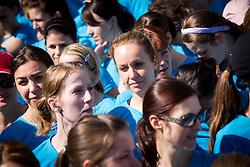 Sanja Modric during 5km and 10km running race 9. DM Tek za zenske on May 31, 2014 in Tivoli, Ljubljana, Slovenia. Photo by Vid Ponikvar / Sportida