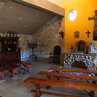 USA, California, Carmel. Holman Ranch Hacienda Chapel.
