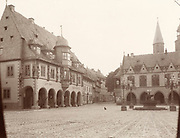 Incredible Photos Capture Everyday Life of Germany in the Early 1880s <br /> <br /> Carl Curman (1833 – 1913) was a Swedish physician and a scientist - as well as a prominent amateur photographer. He did a lot of travelling abroad in Europe, mainly to study health resorts, but also to study art and architecture. These  Incredible photos  were taken in Germany in the early 1880s when he traveled there.<br /> <br /> Photo shows: Marktplatz (Market Square) in the Historic Town of Goslar, 1882<br /> ©Swedish National Heritage Board/Exclusivepix Media